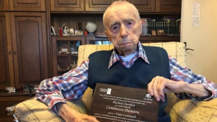 Un român este cel mai bătrân bărbat din lume. Povestea lui Dumitru Comănescu