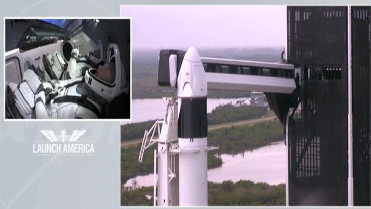 decolare Space X Nasa