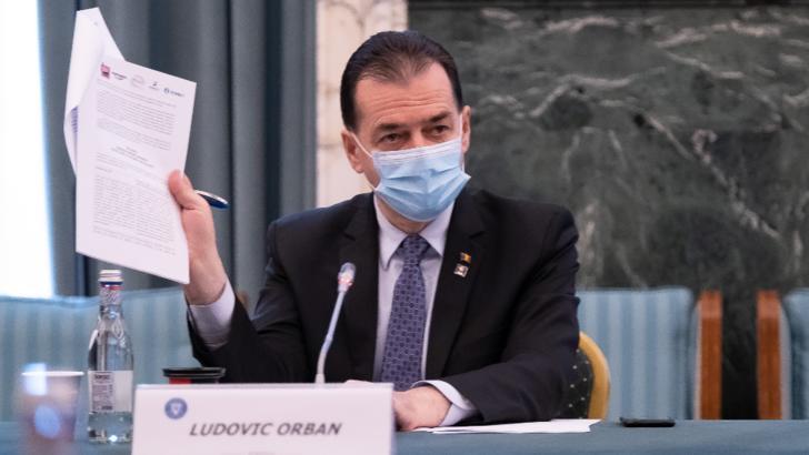 Ludovic Orban, premierul României Foto: gov.ro