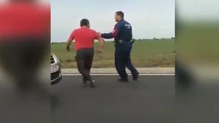 Scene halucinante, la graniță: român agresat de vameși maghiari