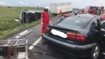 Impact nimicitor cu un TIR, pe Centura de Nord a Craiovei: 3 morți