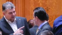 Marcel Ciolacu și Ludovic Orban