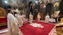 Slujba de Înviere la Catedrala Patriarhală din București, aprilie 2020 Foto: basilica.ro