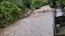 Inundații în județul Bistrița-Năsăud Foto: Bistriteanul.ro