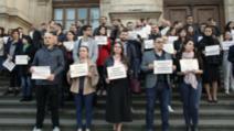 Protest magistrați