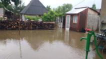Inundații devastatoare, în Timiș. Bilanțul revărsării apelor