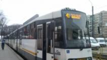 Circulația tramvaiului 41, BLOCATĂ, după ce unui călător i s-a făcut rău