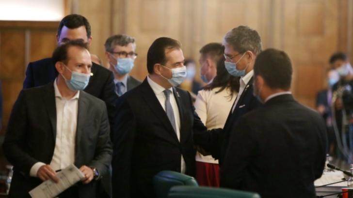 Ludovic Orban, ședință de guvern cu opt ordonanțe de urgență