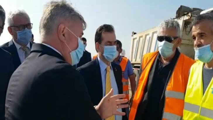 Orban şi mai mulţi miniştri, prezenţi în Olt. Vizită la şantierul Drumului Expres şi la Alro