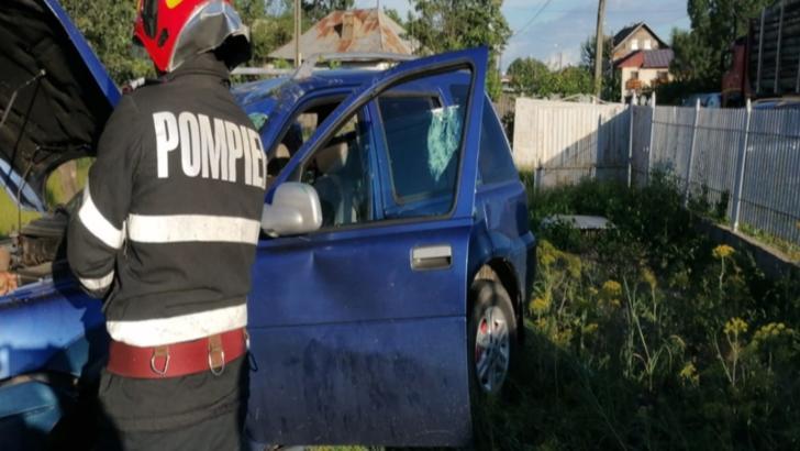 Dosar penal pentru o șoferiță vitezomană care a provocat un accident. Două femei și doi copii au văzut moartea cu ochii