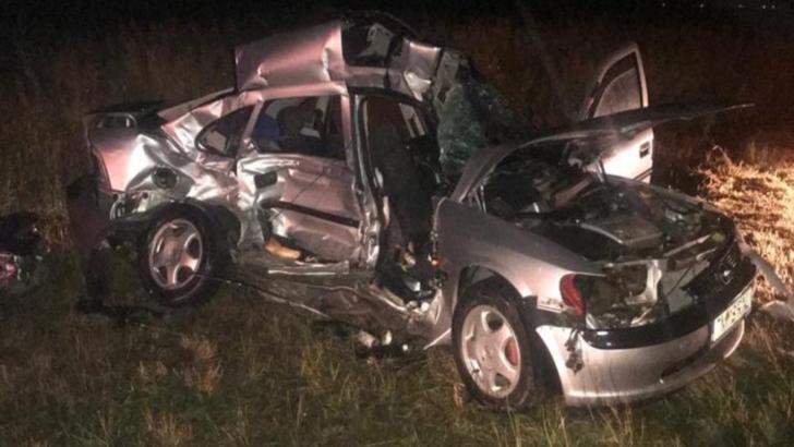 Accident CUMPLIT în Timiș: două persoane și-au pierdut viața
