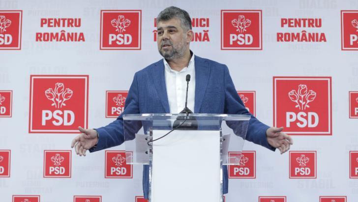 Marcel Ciolacu, președinte interimar al PSD Foto: Inquam Photos/Octav Ganea