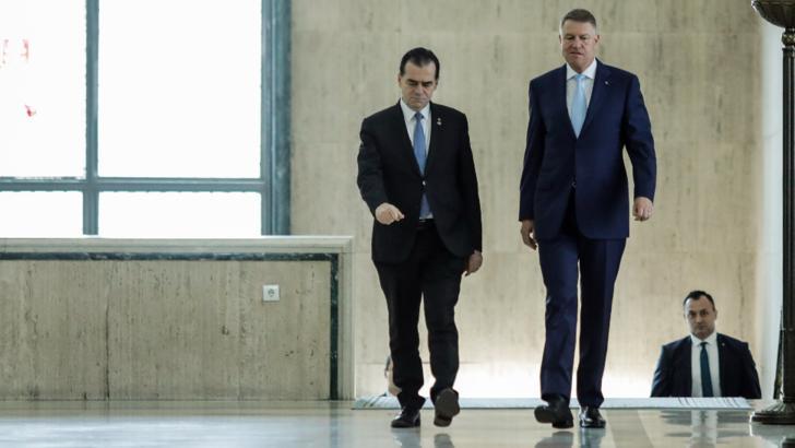 Klaus Iohannis, întâlnire de ultim moment cu Ludovic Orban, la Cotroceni / Foto: Inquam Photos, George Calin