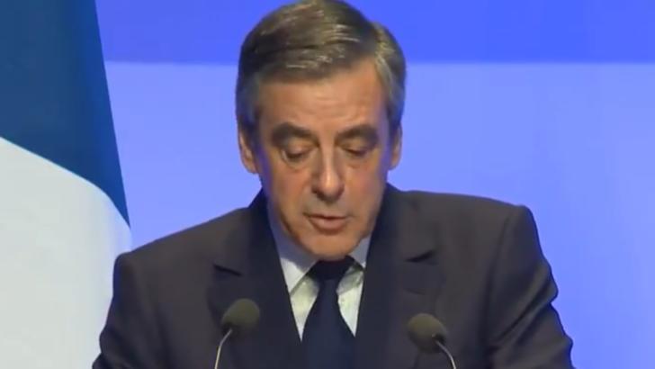 Fostul premier francez François Fillon, condamnat la cinci ani de închisoare, dintre care doi cu executare