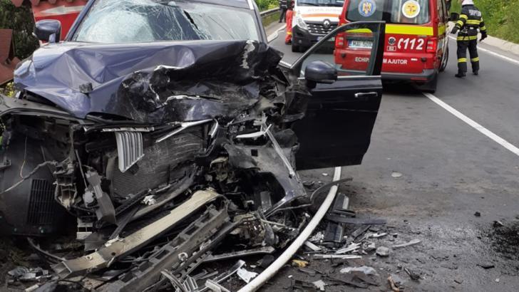 Accidente rutiere în lanț în județul Brașov! Trei persoane rănite și trafic blocat complet pe DN1