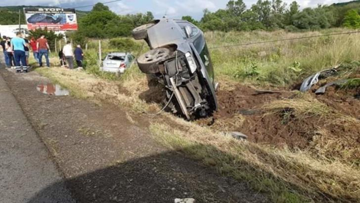 Accident grav în județul Cluj, în urma unei depășiri imprudente