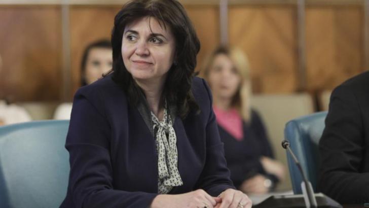 Monica Anisie, ministrul Educației și Cercetării Foto: Inquam Photos/Octav Ganea