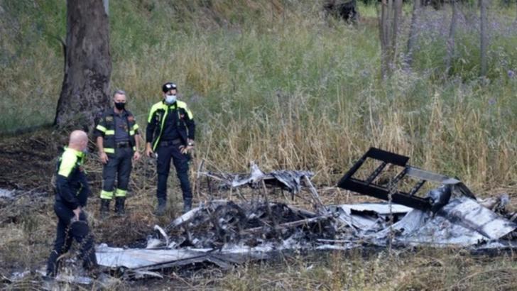 Avion prăbușit / Foto arhivă