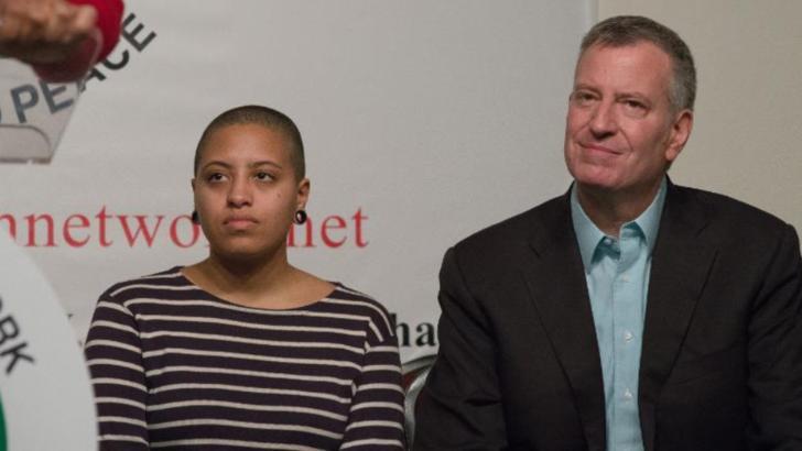 Chiara Blasio, fiica primarului NY, arestată în timpul unui protest după moartea lui George Floyd