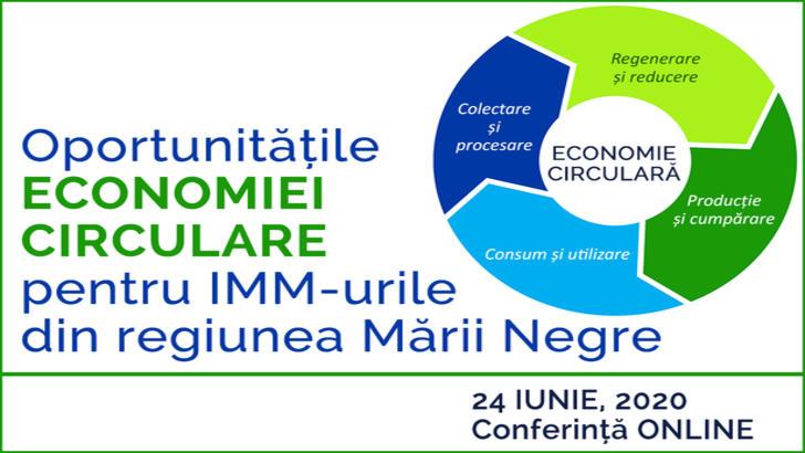 """CCIR organizează conferința """"Oportunitățile economiei circulare pentru IMM-urile din regiunea Mării Negre"""" (P)"""