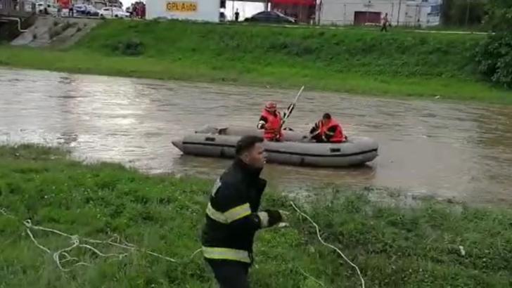 Copil de patru ani, căzut în râul Cibin