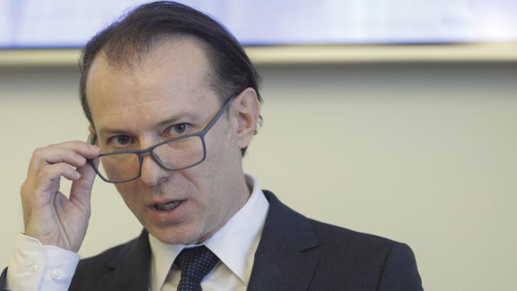 Florin Citu, ministrul Finantelor in Guvernul liberal Orban