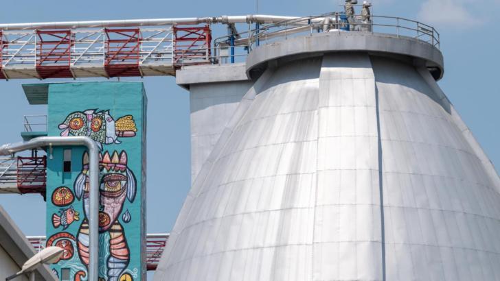 Gabriela Firea: Incineratorul de nămol de la Glina este 90% finalizat