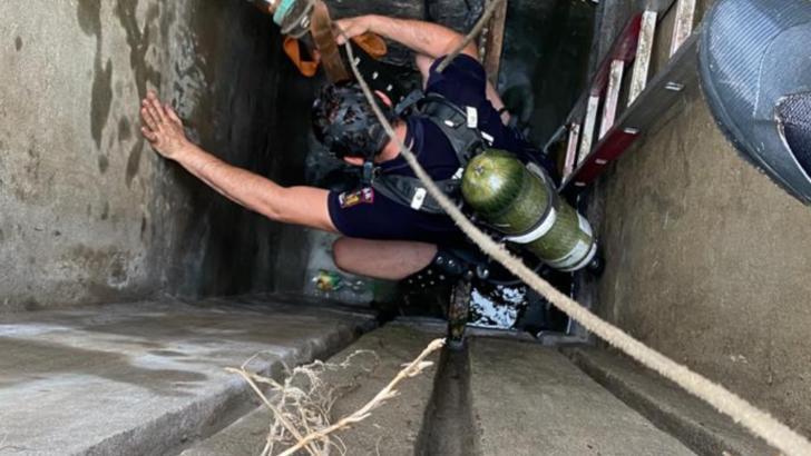 Operațiune de salvare pe malul unei bălți din Teleorman: Trei persoane, în stare de inconștiență
