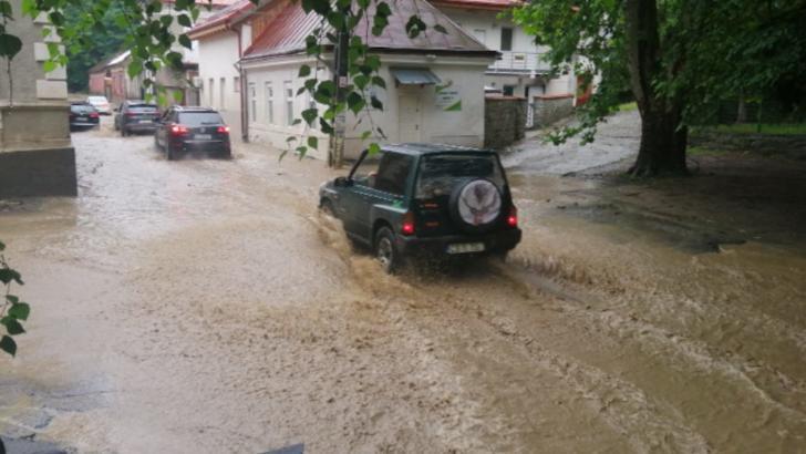 Inundații Oravița, jud. Caraș-Severin