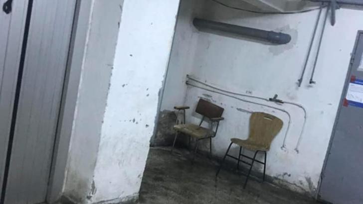 Imagini de groază într-un spital din țară: mizerie, mucegai și pisici