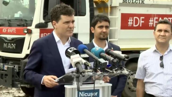 Orban despre cei care au perturbat conferința stradală a lui Nicușor Dan