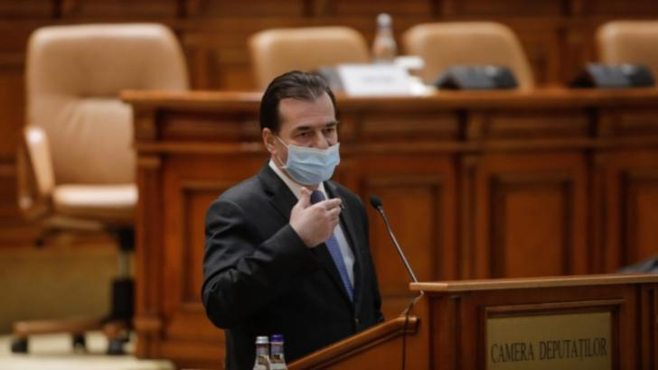 Ludovic Orban, premierul României Foto: Inquam Photos/George Călin