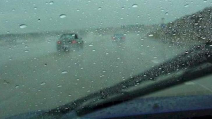 ATENȚIONARE: Risc de accident pe A1 și A2, din cauza ploilor