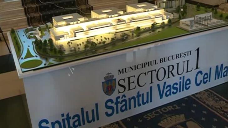 """""""Sfântul Vasile cel Mare"""", spital cu 1.000 de paturi și 60 de linii de gardă"""