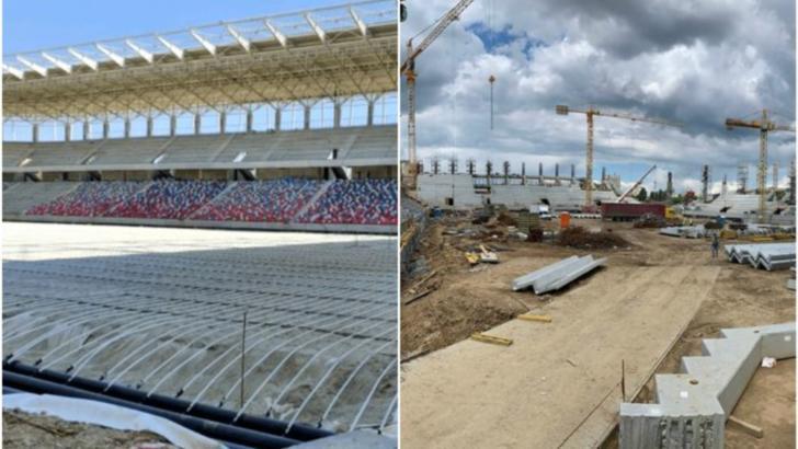 ULTIMA ORĂ | Când va fi montat gazonul la stadioanele Steaua, Rapid și Arcul de Triumf