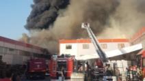 Incendiu violent la un depozit din Bragadiru, în apropiere de Șoseaua de Centură a Capitalei