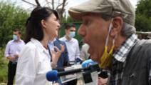 Conferința PNL, bruiată de pensionari: poliția a intervenit - Foto: Inquam Photos / Sabin Cirstoveanu