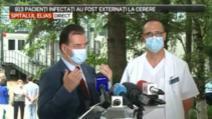 ORBAN, inspecție de urgență la Spitalul Elias: Sperăm ca de marți secția ATI COVID-19 să fie funcțională