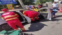 Accident teribil la Fetești, un bărbat a murit, alte două persoane sunt în stare gravă