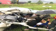 FOTO Accident feroviar în județul Bacău, o victimă în stare gravă