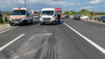 VIDEO Carambol cu opt maşini implicate, între Slatina şi Piteşti