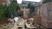 Tragedie, la Timișoara: un zid s-a prăbușit peste un bărbat