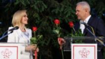Gabriela Firea și Liviu Dragnea