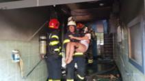 Incendiu intr-un bloc din Giulești, în urma unei explozii