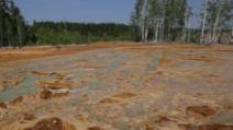 VIDEO Ce poate face poluarea. Sălbăticia munților Urali, arsă de acid și transformată în peisaj marțian