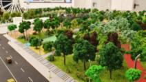 Cum va arăta parcul de 27.627 mp, construit de Primăria sectorului 4 la intersecția bulevardului Metalurgiei cu strada Drumul Dealul Bisericii