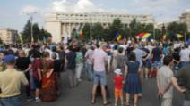 Protest Piața Victoriei. Sursă foto: Inquam