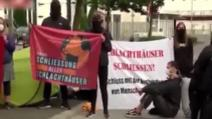 Protest la abatorul din Germania unde s-au infectat cu Covid peste 1.000 de români