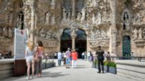 La Sagrada Familia, Barcelona Foto: Twitter.com