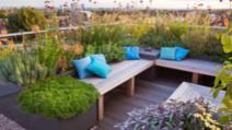 Oaza din jungla urbană. Cum amenajezi o terasă pe acoperișul blocului